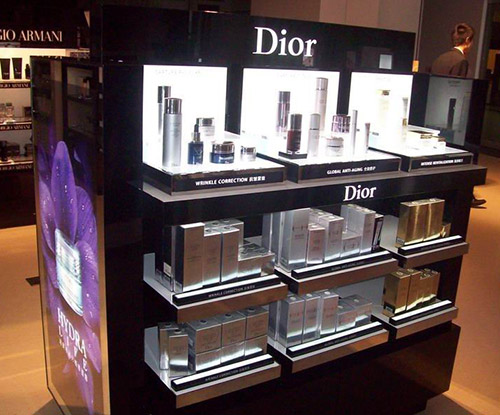 cosmetic display Panel