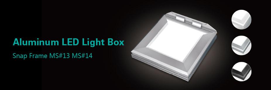 Aluminum LED Light Box