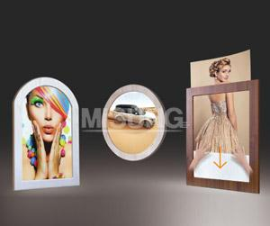 Wooden LED Light Box