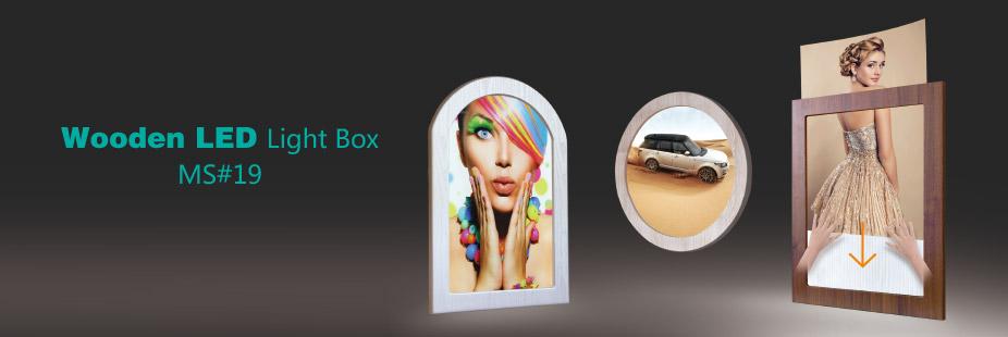 Wooden LED Light Box